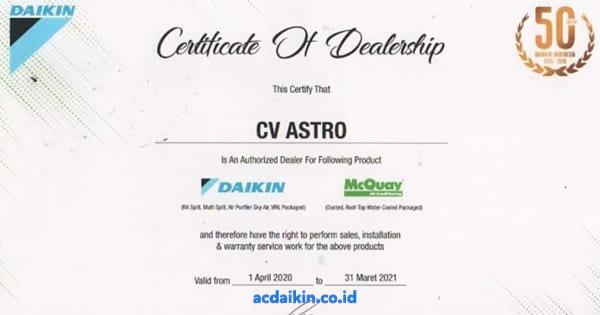 sertifikat daikin 2020 acdaikincoid OG